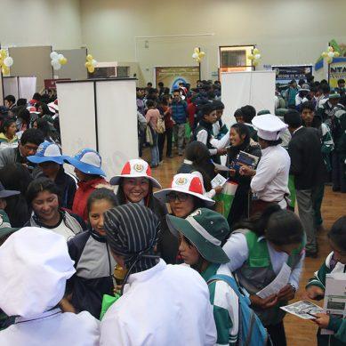 Minera Antapaccay organizó feria de orientación vocacional en Espinar