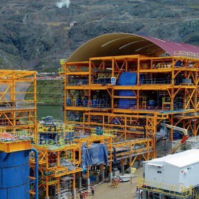 Cosapi culminó ejecución de nueva planta concentradora de mina San Rafael, de Minsur