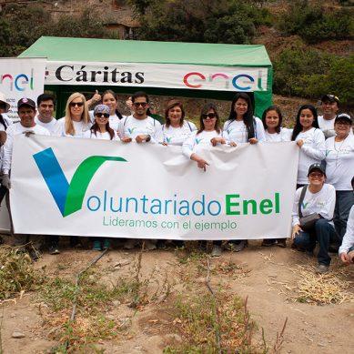 Enel Perú reconoce el voluntariado en día laborable