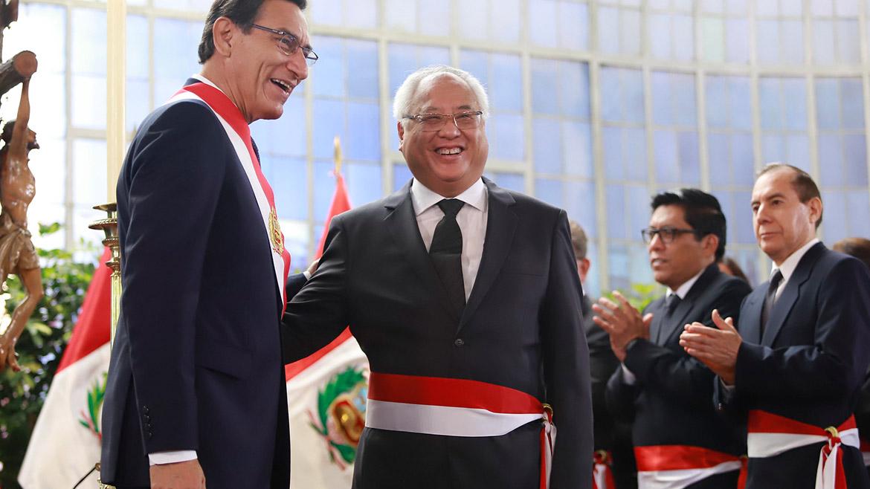 Juan Carlos Liu Yonsen, nueva máxima autoridad del Ministerio de Energía y Minas