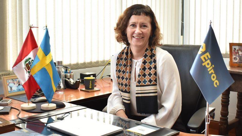 Helena Hedblom tomará las riendas de la fabricante de equipos mineros Epiroc