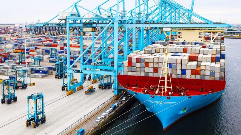 Grupo logístico Moller-Maersk incrementó ganancias en 14% durante el tercer trimestre