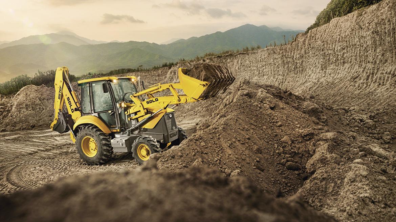 Volvo Group Perú lanza la primera retroexcavadora SDLG para construcción, minería y agricultura