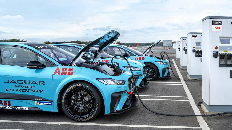 ABB Fórmula E: Carga rápida de energía para 100 km, en solo 4 minutos