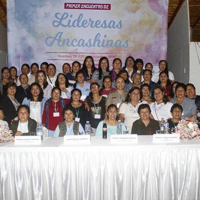 Liderazgo de mujeres ancashinas fortalecido por proyecto social de Antamina