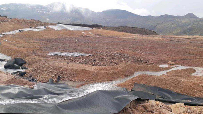 OEFA paraliza actividades de  empresa Anabi S.A.C. en la unidad minera Utunsa, en Apurímac