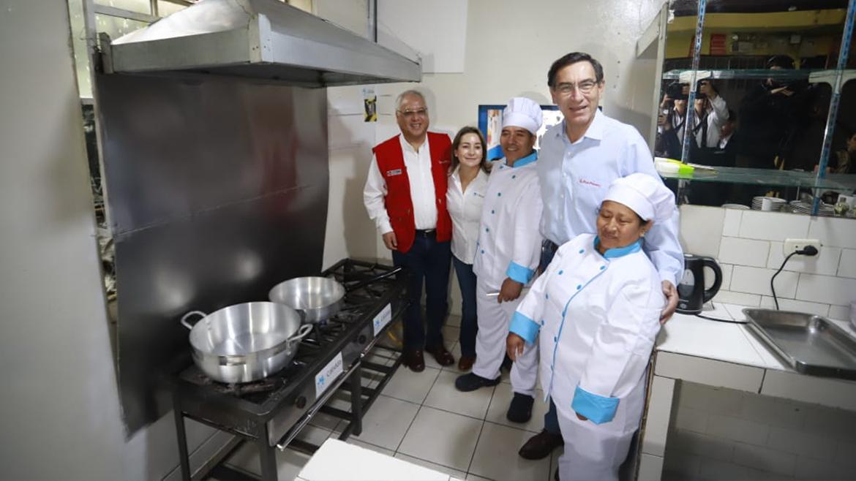 Presidente Vizcarra: «Al 2021, la meta son 6 millones de ciudadanos beneficiados con el gas natural»