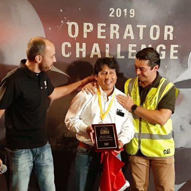 Peruano consigue ubicarse entre los tres mejores operadores de maquinaria pesada de América Latina
