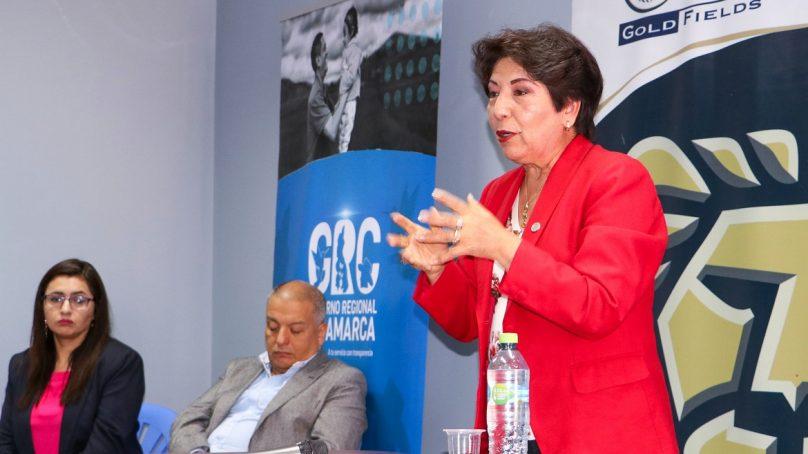 Autoridades de Cajamarca fueron capacitadas en Gestión Pública, con apoyo de Gold Fields