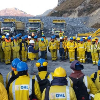 Española OHL gana proyecto minero por US$166 millones en Chile