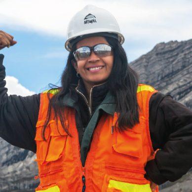 Yessica Villafuerte, de Antamina: «Deseo jubilarme aquí»