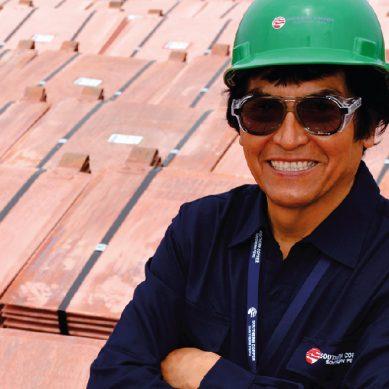 Jorge Alfaro, la llave maestra de la planta electrolítica de Southern Copper