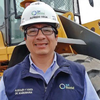 Alfredo Vega, el hombre clave de SK Rental para el servicio técnico a las mineras