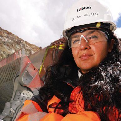 Cecilia Álvarez, de Hudbay Perú: «Ser minera fue un amor a primera vista»