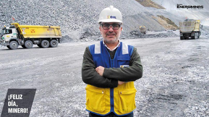 ¿En quién confía la contratista minera OHL sus proyectos para la minería? Sí, en José Cabello