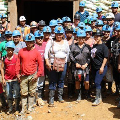 Artesanales explotarán antiguas galerías mineras rehabilitadas por firma colombiana