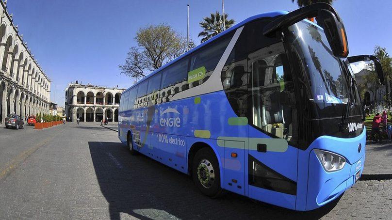 Bus eléctrico movilizará gratuitamente a los ciudadanos de Piura y Lambayeque