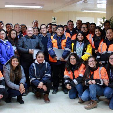 Cerro Corona, la primera mina a tajo abierto del Perú con certificación ISO 45001:2018