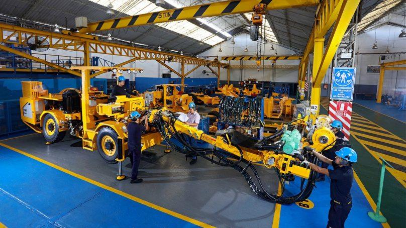 Única fabricante peruana de equipos para minería subterránea celebra 30 años