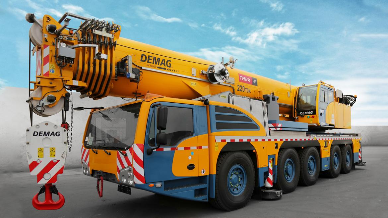 Quellaveco: tres grúas móviles Demag de 220 toneladas operan en proyecto minero