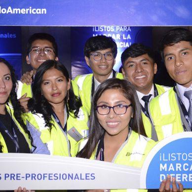 Anglo American da la bienvenida a 50 practicantes moqueguanos que se integran a Quellaveco
