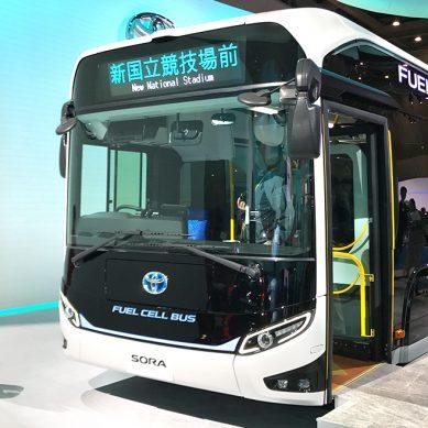 Sora, el bus a hidrógeno de Toyota símbolo de las Olimpiadas Tokio 2020