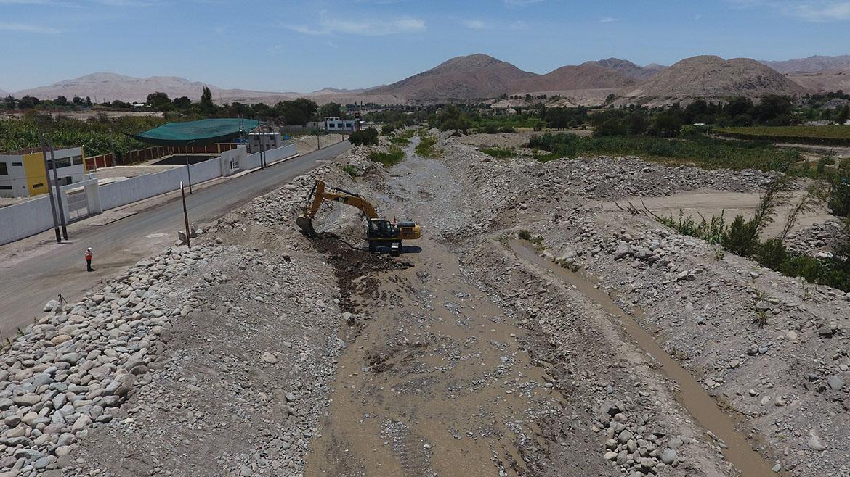 Anglo American: Obras en encauzamiento de río Moquegua tienen un avance del 40%