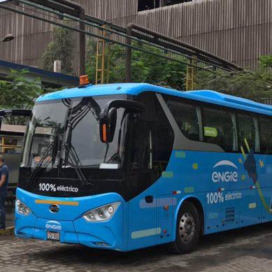 Siderperú prueba las ventajas de la electromovilidad con bus a baterías de Engie Perú