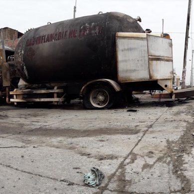 Villa El Salvador: Incendio de camión cisterna que transportaba GLP causa más de 30 heridos