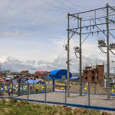 Cusco: Inauguran obras eléctricas para beneficio de la población de Espinar