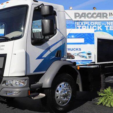 Kenworth presenta su primer camión eléctrico para transporte logístico