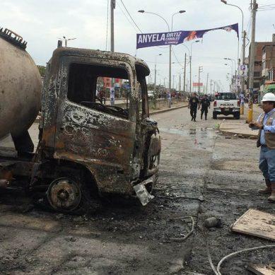 Villa El Salvador: camión cisterna transportaba 2,200 galones de GLP