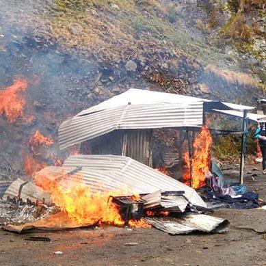 Destruyen campamento minero ilegal que operaba en Parque Nacional Huascarán