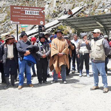 Buscan reestablecer diálogo entre comunidad de San Juan de Paucar y minera Raura