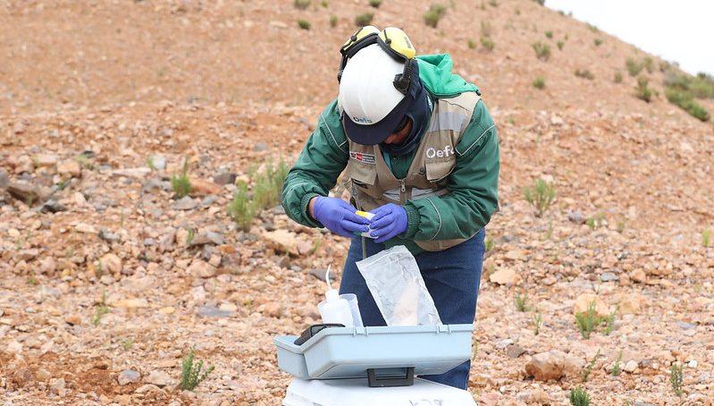 OEFA: Vuelca en Cusco camión de empresa Wari que transportaba mineral de Las Bambas
