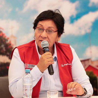 Susana Vilca: «Somos un Gobierno que impulsa inversiones mineras sostenibles»