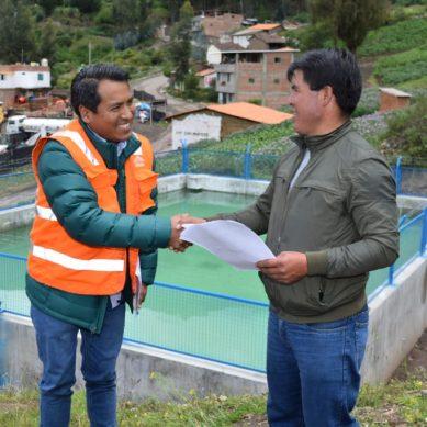 Áncash: Antamina entrega nuevo reservorio para comunidad campesina Huaripampa
