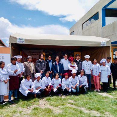 Antapaccay y Newrest se unen para mejorar formación de jóvenes cocineros en Espinar