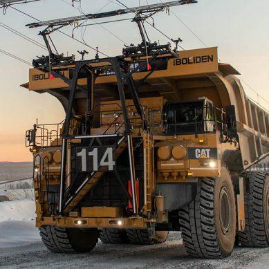 Caterpillar estrena formalmente su sistema de asistencia 'trolley' para camiones mineros