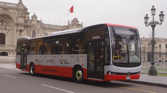 Bus eléctrico del Corredor Rojo evitó emisión de 6 toneladas de CO2 en Lima