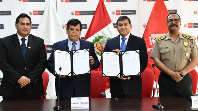 Petroperú y Mininter firman acuerdo para proteger Oleoducto Norperuano