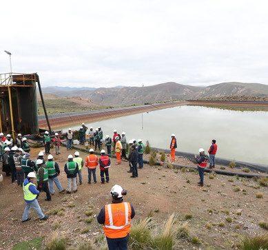Minam, OEFA, Minem y ANA supervisan proceso de cierre de unidad minera Arasi