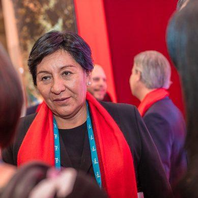 Ministra Vilca, en busca de vitaminas para inversiones en exploración minera