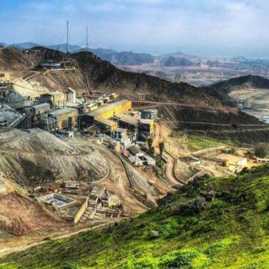 Senace aprueba cambios en Ariana, proyecto en construcción de cobre y zinc