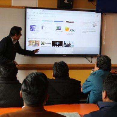 Antapaccay invierte S/4 millones en equipos audiovisuales para colegios en Espinar