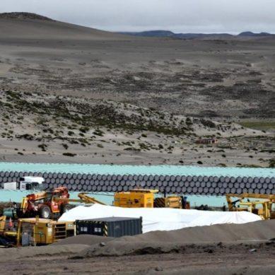 Quellaveco: Techint inició soldadura de ducto de 88km para traer agua a planta Papujune