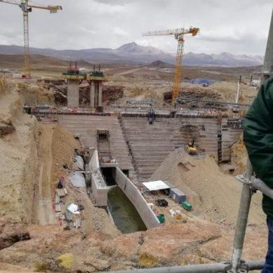 Quellaveco: presa Vizcachas que construye Mota-Engil estará lista este mes