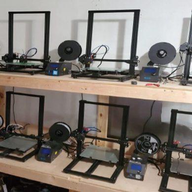 Covid-19: ingeniero de la UNMSM crea equipos de protección personal con iones de plata e impresión 3D