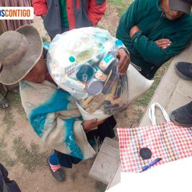 Cusco: Minera Antapaccay reparte víveres entre los más pobres de Espinar