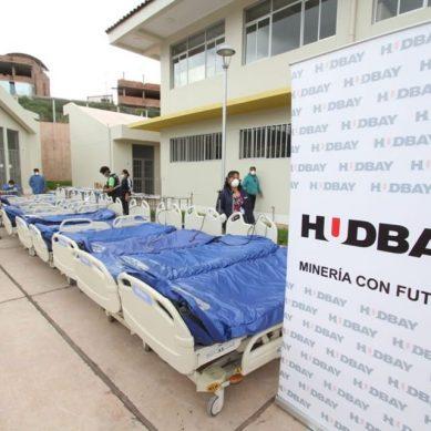 Hudbay Minerals dona 24 camas eléctricas y 56,000 mascarillas para Diresa Cusco